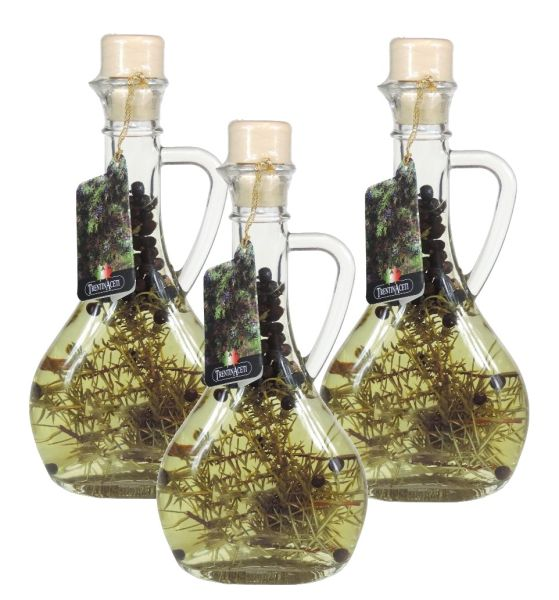 Alpenkräuteressig - Weißweinessig mit Aroma - Alpenkräuter Essig - TrentinAcetia - 3x 250 ml