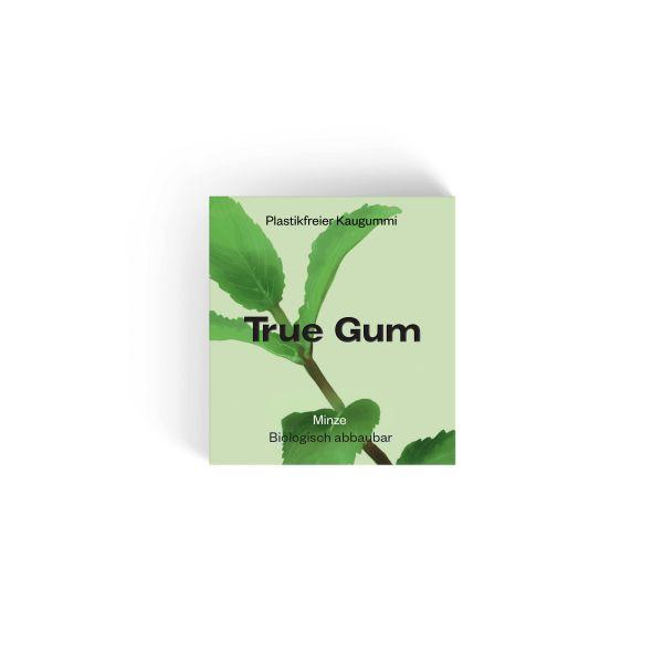True Gum - Plastikfreie Kaugummi - Minze & Matcha - 100% Biologisch abbaubar