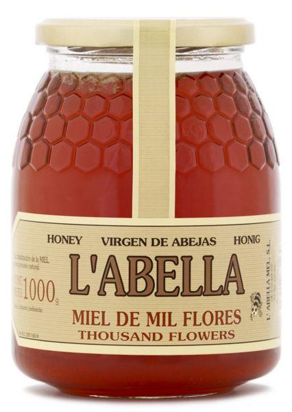 Blütenhonig aus Spanien - Premium Qualität - reines Naturprodukt - kaltgeschleudert - im Glas