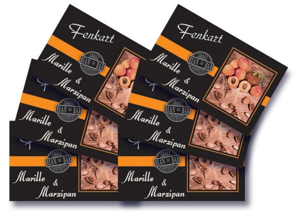 "Marille Marzipan Schokolade 6x 80g - Fenkart Schokoladengenuss - ""Bean to Bar"" Schokolade"