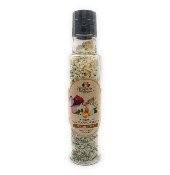 Italienische Spaghetti Gewürzmischung zum Kochen - Spaghetti Salz - höchste Qualität - 220 ml