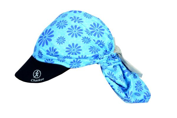 CHASKEE - Snap Cap Visor Happy Flowers