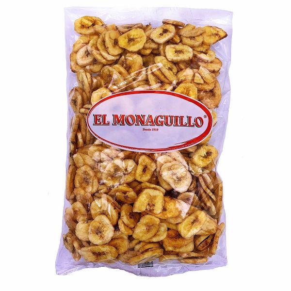 Getrocknete Bananen Chips - natürliche Premium Qualität - Vitaminreich - von den Philippinen - 500 g