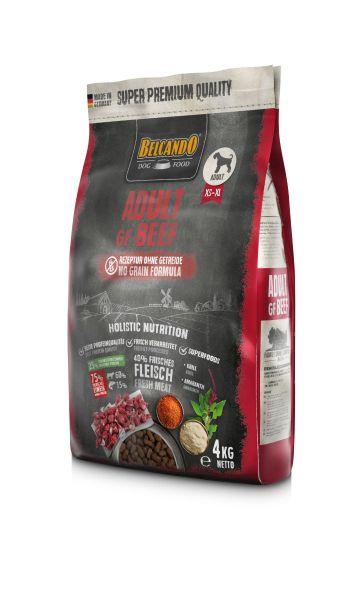 Belcando Adult GF Beef getreidefreies Hundefutter | Trockenfutter ohne Getreide 1x 4 kg