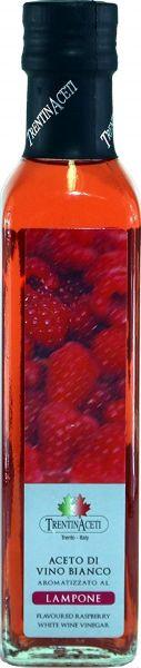 Himbeeressig - Weißweinessig mit Aroma - Himbeer Essig aus Italien - TrentinAcetia - 250 ml