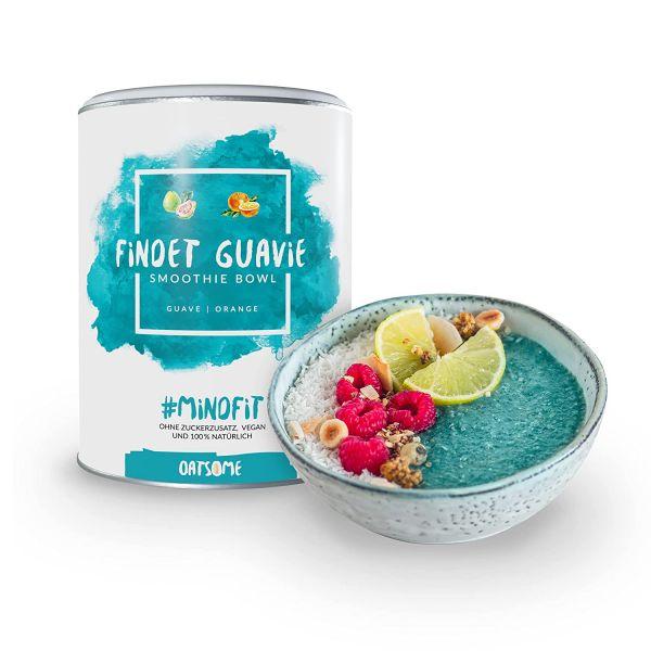 Oatsome - Findet Guavie - Smoothie Bowl - Nährstoff Frühstück mit 100% natürlichen Zutaten & ohne Zu