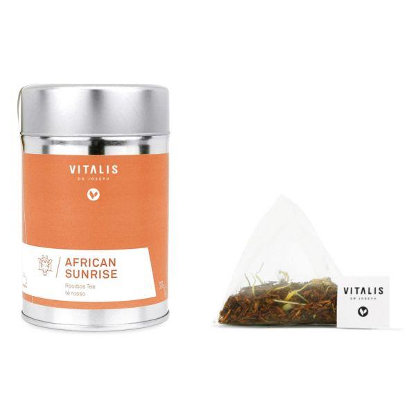 Vitalis - Kräutertee African Sunrise 36g Tea - Tee von Vitalis Dr. Joseph