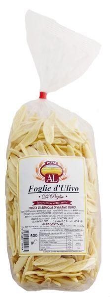 Frische Foglie d'Ulivo Nudeln aus Italien 500g – trafila in bronzo - Olivenblatt Nudeln