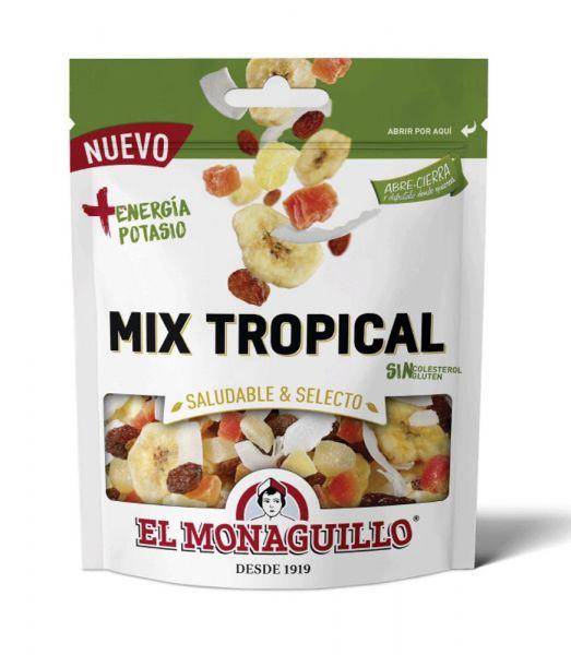 Getrocknete Tropenfrüchte im Mix  - natürliche Premium Qualität - glutenfrei - vegan - 110 g