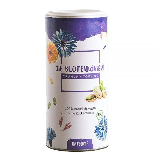Oatsome - Blütenkönigin - Crunchy Toppings - Bio? Logisch! - Extra Crunchy - Ohne Zuckerzusatz - 200