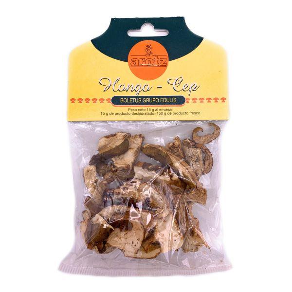 getrocknete, wilde Steinpilze- getrocknete Speisepilze der Spitzenklasse aus Spanien- Scheiben- 15 g