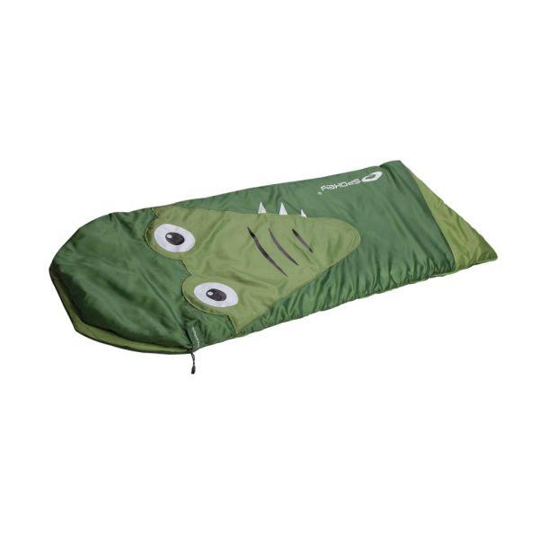 Spokey - Kinderschlafsack - Frühling/Sommer Temperaturen in bequemer Rechteckform - 140 cm x 60 cm