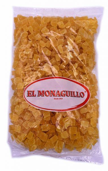 Getrocknete Ananas Stücke - natürliche Premium Qualität - Vitaminreich - aus Thailand - 1 kg