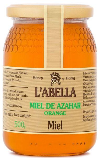 Orangenblütenhonig aus Spanien - Orangenhonig - Premium Qualität - Naturprodukt - kaltgeschleudert