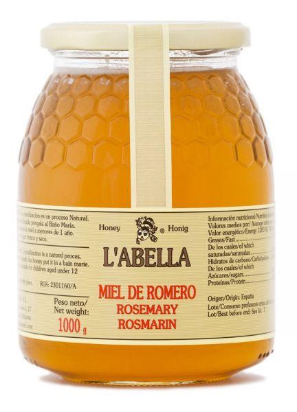 Rosmarinhonig aus Spanien - Premium Qualität - reines Naturprodukt - kaltgeschleudert - im Glas