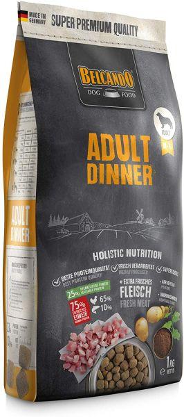 Belcando Adult Dinner Hundefutter 1kg | Trockenfutter für Hunde | Alleinfuttermittel für ausgewachse