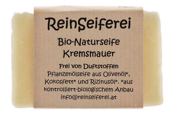 BIO - Naturseife Kremsmauer - reine vegane Naturseife - kalt gerührte Handseife aus Österreich- 75 g