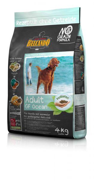 Hunde Trockenfutter - Adult GF Ocean mit Fisch 4kg - Belcando Hundefutter - getreidefrei