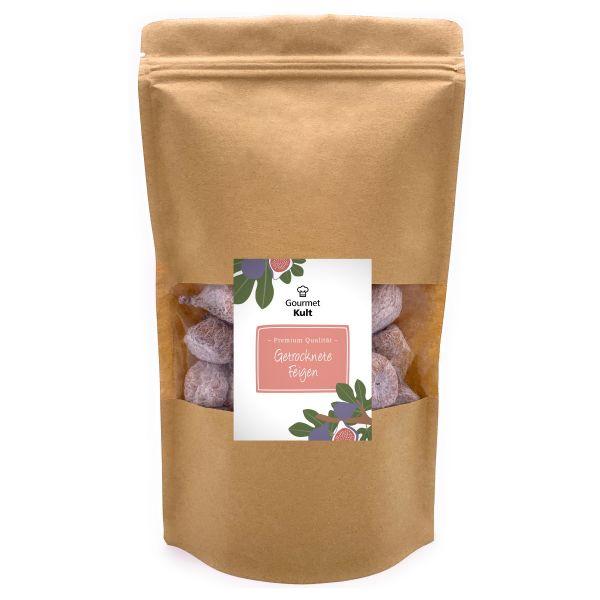 GourmetKult - Getrocknete Feigen aus Spanien - Premium Qualität - 100 % natürlich - Glutenfrei - 500