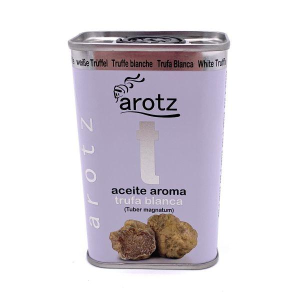 Trüffelöl der Spitzenklasse aus Spanien - Extra natives Olivenöl mit weißem Trüffelaroma - 200 ml