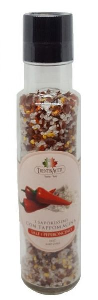 Italienische Gewürzmischung - Chili Salz - Peperoncini Grillgewürz - höchste Qualität - 240g