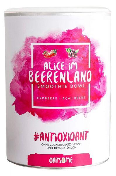 Oatsome - Alice im Beerenland - Smoothie Bowl - Nährstoff Frühstück mit 100% natürlichen Zutaten & o