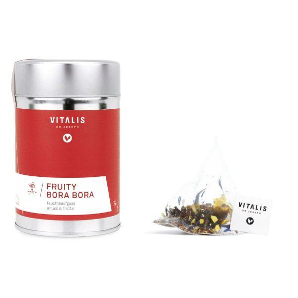 Vitalis - Früchtetee Fruity Bora Bora 36g Tea - Tee von Vitalis Dr. Joseph