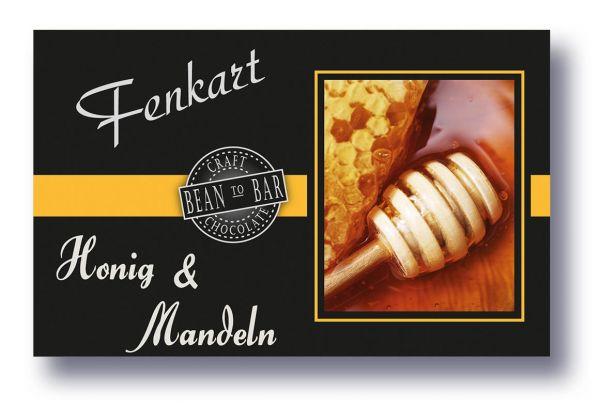 """Mandel & Honig Schokolade 1x 80g - Fenkart Schokoladengenuss - """"Bean to Bar"""" Schokolade"""