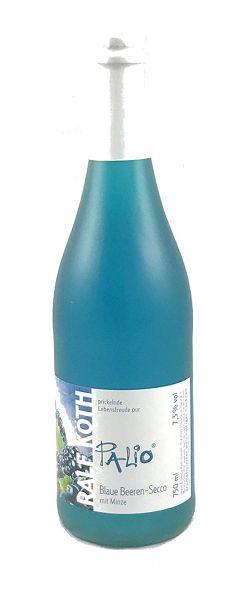 Palio - Blaue Beeren Secco mit Minze 0,75l - Fruchtiger Perlwein - Prämiert aus Deutschland
