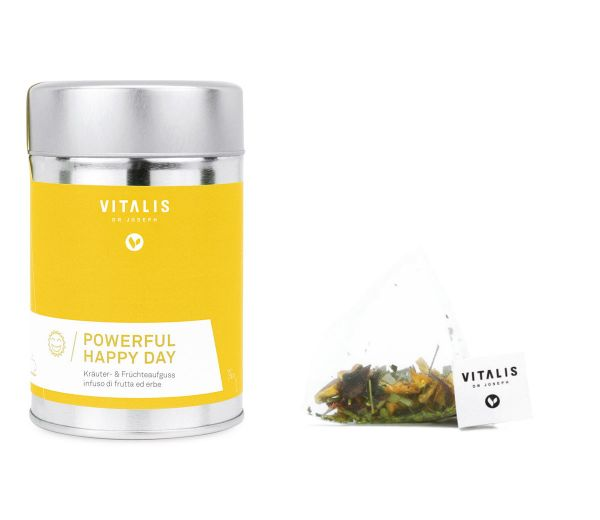 Vitalis - Kräutertee Powerful Happy Day ® 36g - Tee von Vitalis Dr. Joseph