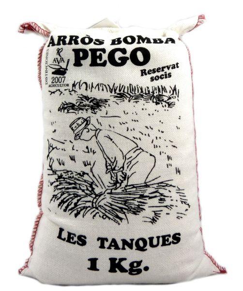 Bomba Reis aus Spanien - Rundkornreis - für Paella, Risotto - Anbau im Naturpark Marjal Feuchtgebiet