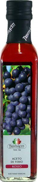 Rotweinessig - Rotwein Essig aus Italien - TrentinAcetia - 250 ml - Aceto di vino rosso