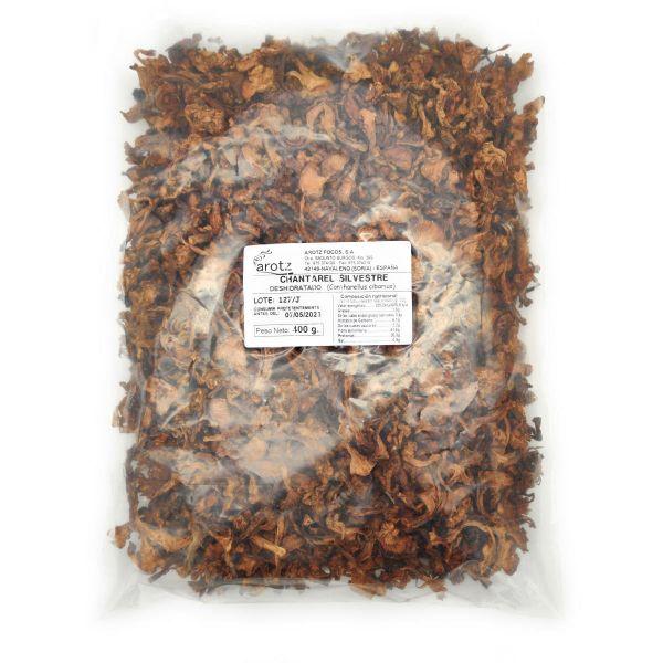 getrocknete wilde Pfifferlinge - Speisepilze der Spitzenklasse aus Spanien - in Scheiben - 400 g