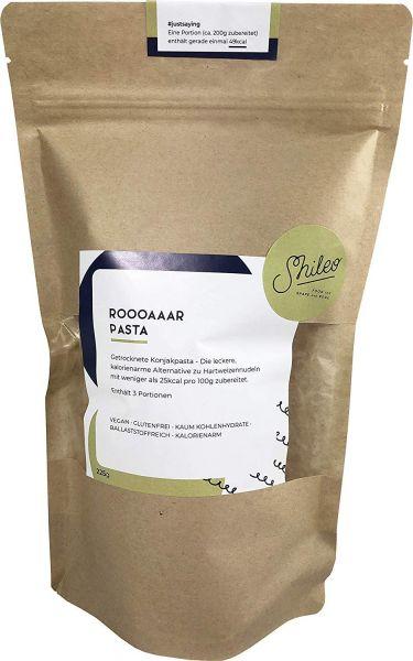 Shileo Low-Carb Konjak Nudeln/Shirataki, kalorienarm, exklusiv getrocknet (210g), ideal für Ketogene