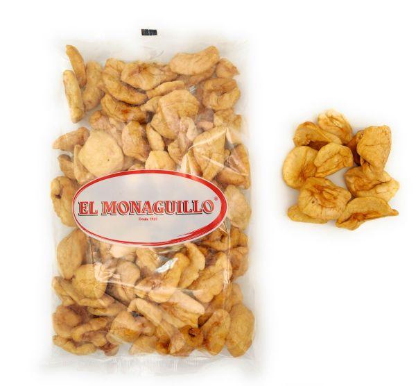 Getrocknete Apfelschnitze - natürliche Premium Qualität - Vitaminreich - Apfelstücke, Apfelringe - 5