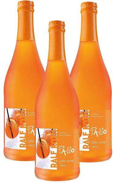 Palio - Bitter-Orange Sprizz 3x 0,75l - Fruchtiger Perlwein 7,30% vol.