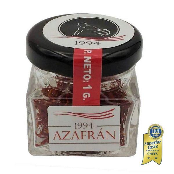 Azafran 1994 Safran Fäden - 1g Safran - Safranfäden in höchster Qualität aus Spanien - 100% eigene Produktion