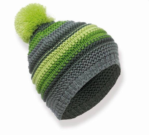 MATT - Thick Knit Stripes - Unisex Winter Mütze in Strickoptik