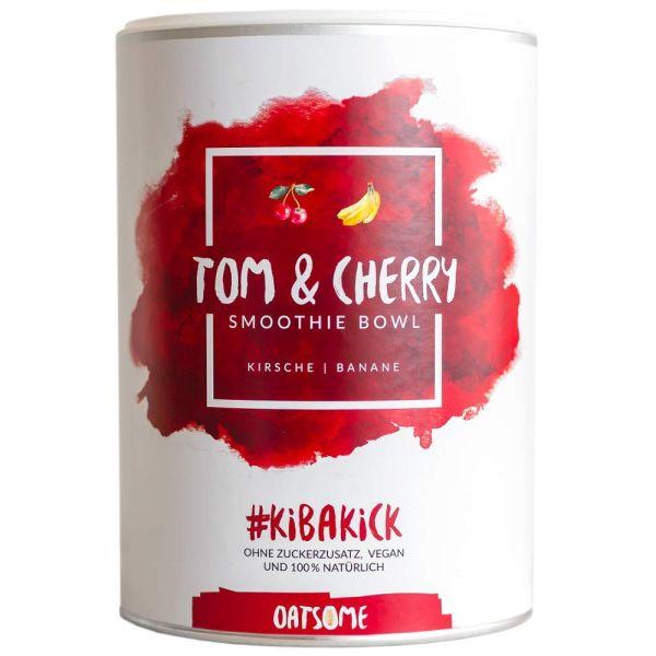 Oatsome - Tom & Cherry - Smoothie Bowl - Nährstoff Frühstück mit 100% natürlichen Zutaten & ohne Zus