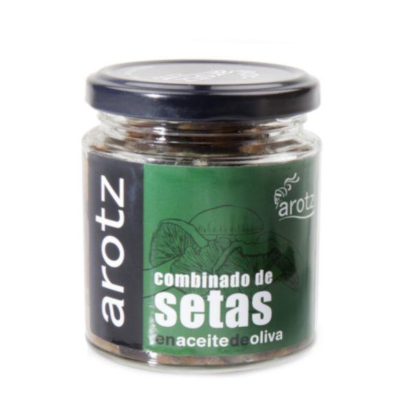 In Olivenöl eingelegte, gekochte Speisepilze der Spitzenklasse aus Spanien - verzehrfertig - 200 g