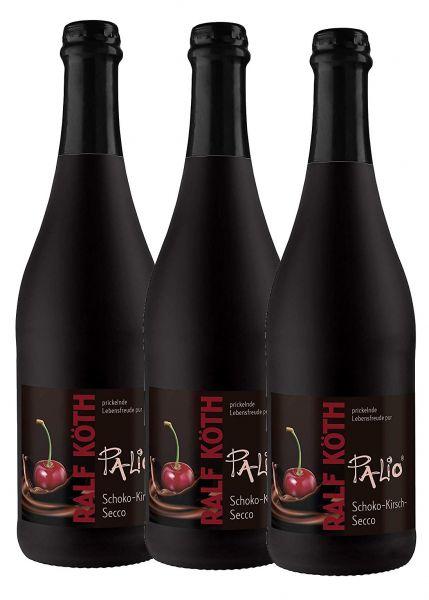 Palio - Schoko Kirsch Secco 3x 0,75l - Fruchtiger Perlwein