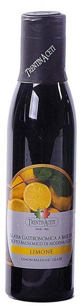Zitronen Balsamico - Balsamico Creme mit Aroma aus Italien - 300 ml - Aceto Balsamico Di Modena IGP