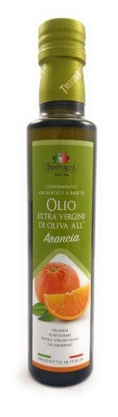 Extra Natives Olivenöl mit natürlichen Orangenaroma aus Italien - höchste Qualität - 250 ml