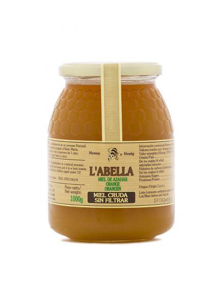 RAW Orangenblütenhonig aus Spanien - Ungefilterte Orangenhonig - Premium Qualität - Naturprodukt