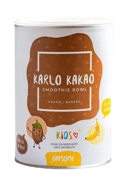 Oatsome - Kids Karlo Kakao - Smoothie Bowl - Nährstoff Frühstück mit 100% natürlichen Zutaten & ohne