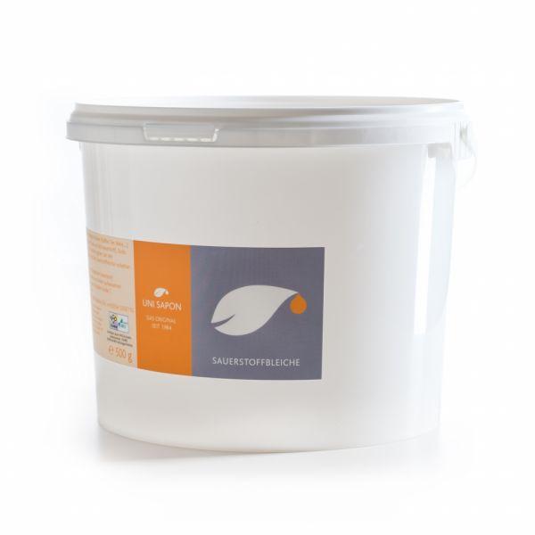 BIO Sauerstoffbleiche von Uni Sapon - mit Aktivsauerstoff - chemiefrei- umweltschonend- zertifiziert