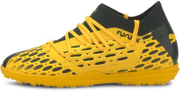 Puma Future 5 3 Netfit TT Jr in Schwarz Gelb