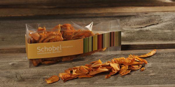 Getrocknete Aprikosen 45g - getrocknete Marillen - Vitaminreich - goldgelbe Farbe - Aprikosen Chips