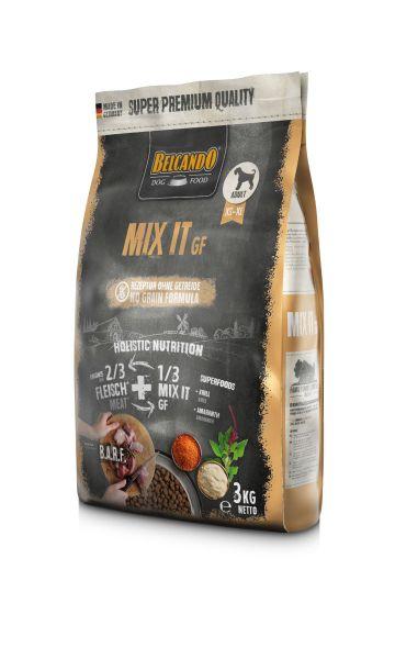 Belcando Mix It GF Ergänzungsfutter | Trockenfutter für Hunde zur Ergänzung bei Fleischfütterung & Barf 1x 3 kg