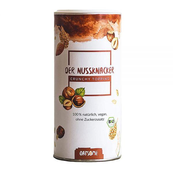 Oatsome - Nussknacker - Crunchy Toppings - Bio? Logisch! - Extra Crunchy - Ohne Zuckerzusatz - 230g